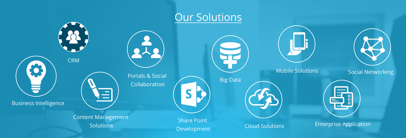 CRM-business intelligence-portals&social coloboration-ecommerce-cloud-BIGDATA-CMS-sharepoint-mobile